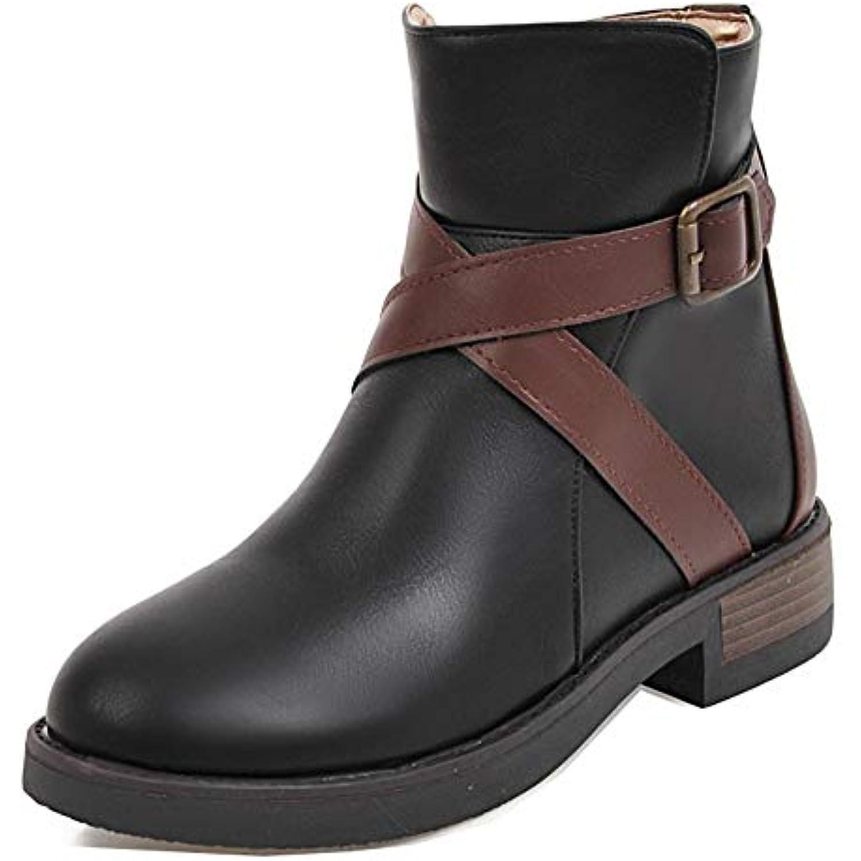 Easemax Femme - Classique Chaussure Montante Petit Talon Cheville Bottines - Femme B07JBXTZNS - 98f626