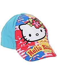 Hello Kitty Casquette, Casquette de Baseball, pour Enfant, Filles, 100%  Coton 73f1c57a0d5