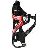 Hifuture Toseek - Portabidón para Botella de Agua de Carbono Ultraligero para Bicicleta de Carretera (73 mm de diámetro), diseño de Jaula de Bicicleta, Rojo