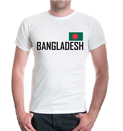 buXsbaum® T-Shirt Bangladesch White-
