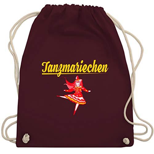 (Karneval & Fasching - Tanzmariechen rot - Unisize - Bordeauxrot - WM110 - Turnbeutel & Gym Bag)
