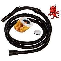 SE 62 SE 122/E SE 122 3/M Tuyau daspirateur flexible de rechange pour Stihl p/ériph/ériques se 61