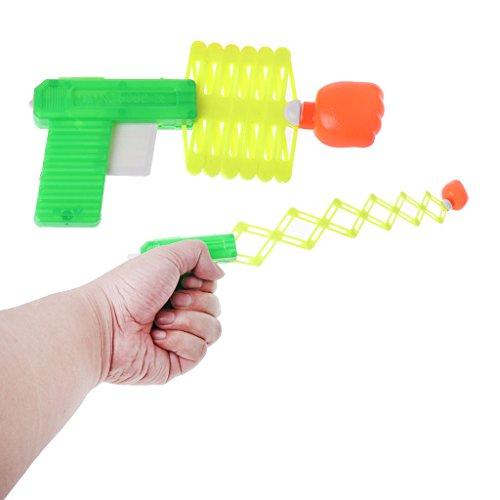 Autone Ausziehbare Faustpistole Trick Spielzeug, Klassische elastische Teleskop-Faust für Kinder, 1/3 Stück zufällige Farbe