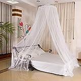 Minlop Moskitonetz - mit 2-Wege-Öffnungen für Doppelbett und Einzel-Bett - Premium Engmaschiges Mückennetz - Fliegennetz Schützt vor Insekten und Mücken - für Reise und Zuhause, 250 x...