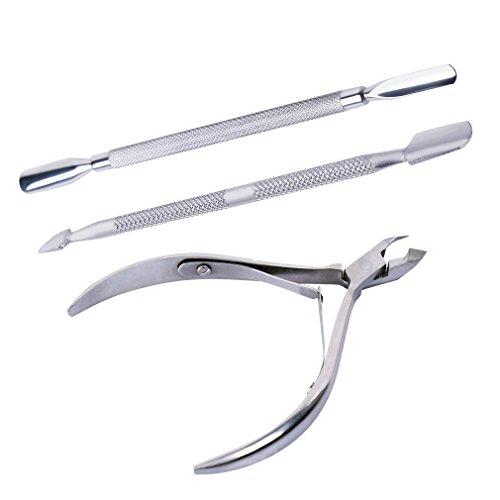 Bobury 3pcs Juego cortador removedor acero inoxidable