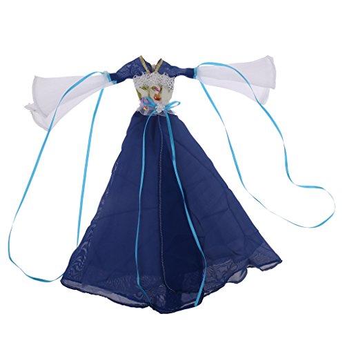 nesisches Altes Kostüm Prinzessin Tüll Kleid Kleidung Für Barbie Puppen Dress Up - # 3 (Barbie Kostüm Für Baby)
