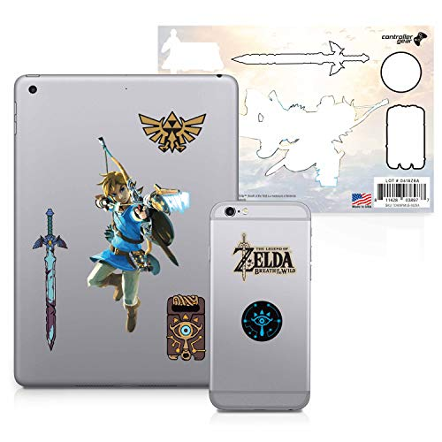 Controller Gear The Legend of Zelda: Breath of the Wild - Character Tech Aufkleber-Set - Bogen und Pfeil - Nintendo Wii; GameCube