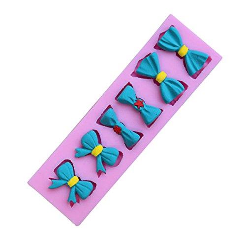 Fliege Bowknot Silikon Fondant Kuchen Schimmel Schokolade Clay Mould Fliegen Making Kit