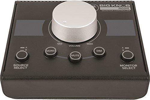 Control room management / selector de altavoces Mackie CONTROLADOR BIG KNOB PASSIVE