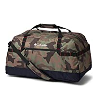 حقيبة دافل لودج ميديوم 55 ال من كولومبيا، 59 سم - CL1890851, , Cypress Camo, Black - 1890851-316-One Size