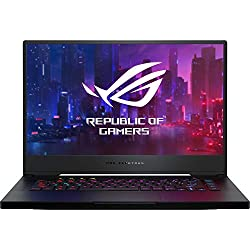 "ASUS ROG Zephyrus S GX502GW-ES002 - Portátil Gaming 15.6"" FullHD 144Hz (Intel Core i7-9750H, 16GB RAM, 512GB SSD, NVIDIA RTX 2070 8GB, sin Sistema operativo) Negro metálico - Teclado QWERTY español"