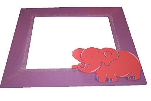 TRÄ PRESENT - Kinder Spiegel Elefant 40 x 40 cm Lagerschaden