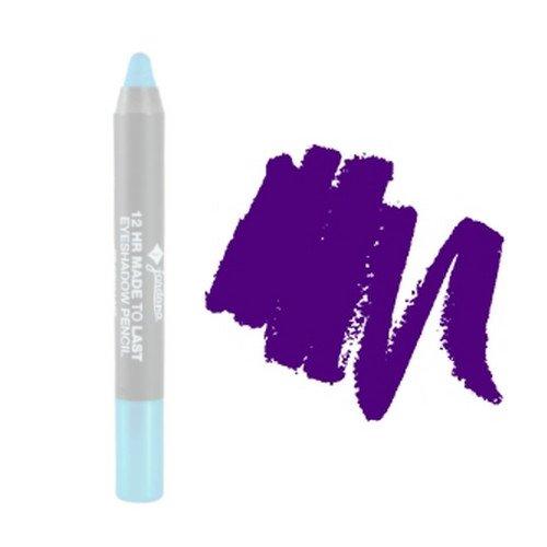 (6 Pack) JORDANA 12 Hr Made To Last Eyeshadow Pencil - Prolong Purple