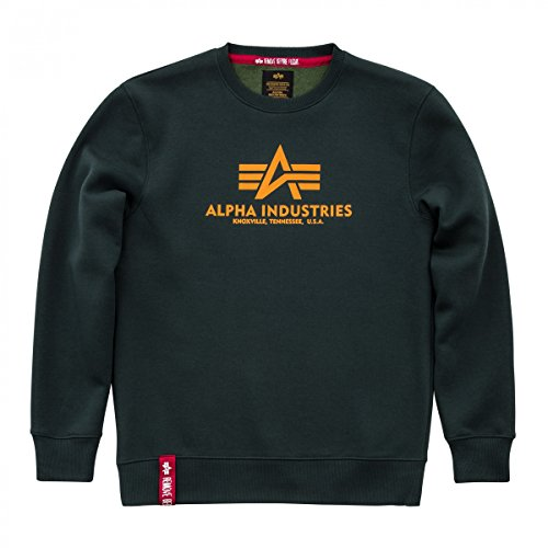 Alpha Industries Herren Pullover Basic Sweater dark petrol
