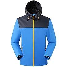 Eono Essentials Men's Waterproof Jacket with Fixed Hood|Windbreaker|Breathable|Lightweight Jacket