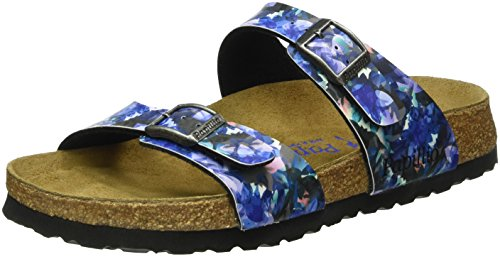 birkenstock-sydney-birko-flor-softfootbed-mules-femme-multicolore-mehrfarbig-caleidoscope-blue-38