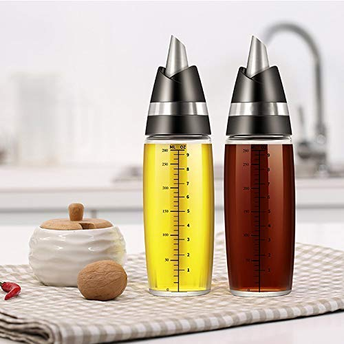 euwanyu Olive Oil Dispenser Bottle Automatic Open