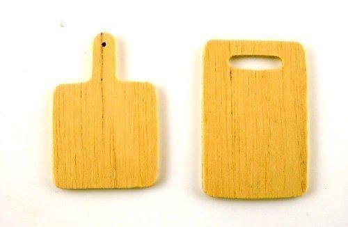 Puppenhaus Miniatur Küchenzubehör Holz Hacken-bretter 5777