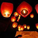 HuaYang lanterne ciel de papier/kongming lanterne pour fête?/mariage(1Pcs: Blue)