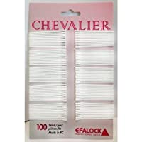Efalock Chevalier 5cm Hair Grips White (Pack of 100)