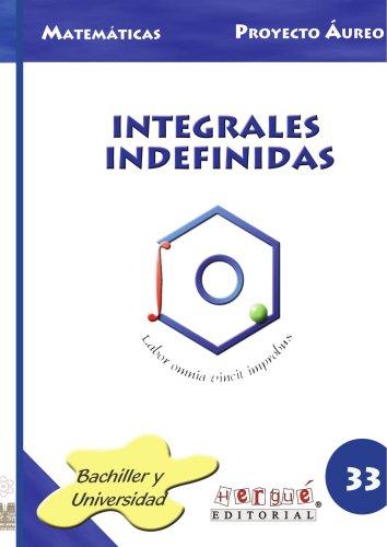 Integrales Indefinidas por Felix Nieto
