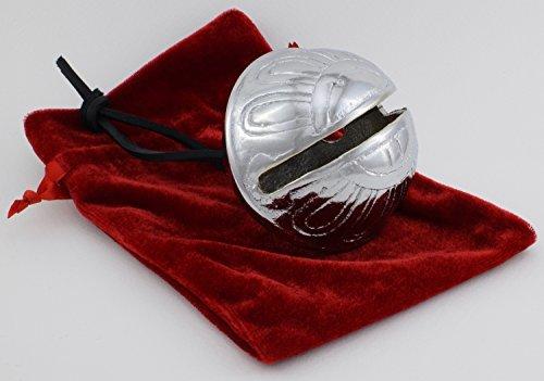 Big Believe Sleigh Bell, silber Weihnachten Jingle Rentier Express von Santa 's Sleigh Bells 11C
