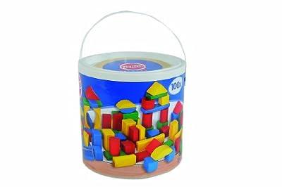 HEROS 100010151 - Juego de 100 bloques de construcción por HEROS