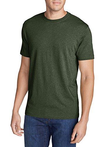 Eddie Bauer Herren T-Shirt 332282 Grün Meliert