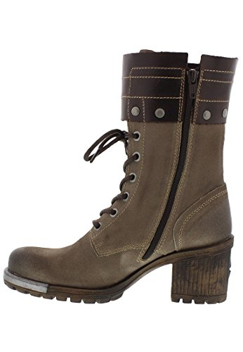 Fly London Lask, Damen Stiefel Taupe