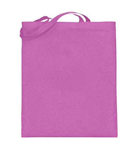 Borsa In Juta Di Alta Qualità (con Manici Lunghi) - ❤glitzer Gossip ? Pink