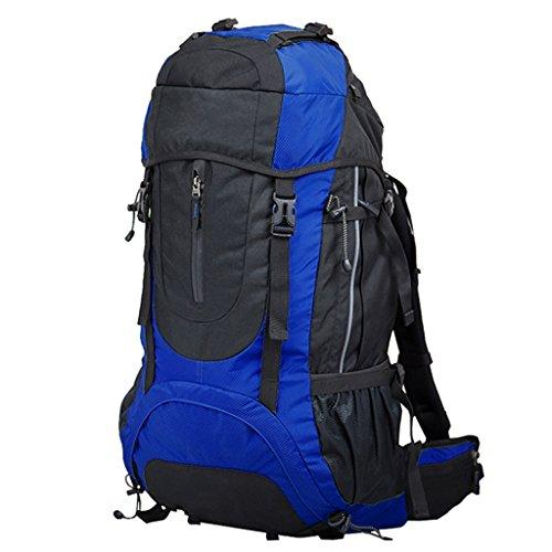 AMOS Zaino Outdoor 60L borsa da viaggio alpinismo sacchetto da viaggio borsa da viaggio zaino da viaggio ( Colore : Arancia ) Verde
