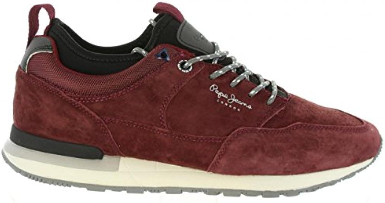 Zapatillas Deporte de Hombre Pepe Jeans PMS30383 Boston 298 Bordeau -