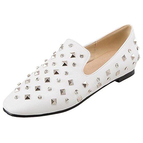 Coolcept Femmes a Enfiler Escarpins white