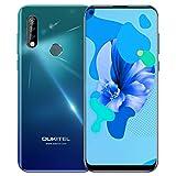 OUKITEL C17 Pro (2019) Offerte Cellulari 6,35 pollici schermo 19,5: 9, 4 GB + 64 GB Helio P23 Octa Core Android 9.0 Smartphone, Batteria 3900mAh, 4G LTE Dual SIM, Fotocamera Posteriore Tripla da 13 MP