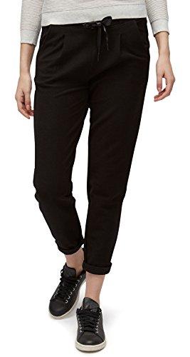 TOM TAILOR DENIM für Frauen Knitwear Pants bequeme Hose black M (Hose Denim Pants)