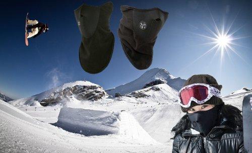 Schutzmaske Gesichtsmaske Ski- Snowboard Maske Neopren Motorrad Fahrrad Outdoor Maske