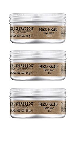 Tigi Bed Head Men Matte Separation Workable Wax 85g (3 pack)
