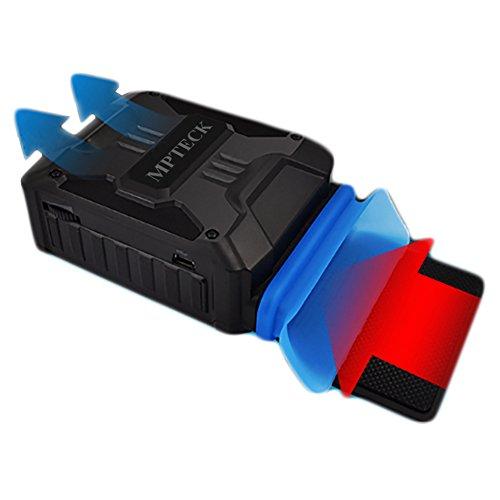 Mondpalast @ Laptop Kühler USB Air Extrahierung Vakuum-Lüfter CPU-Kühler für Notebook - 3