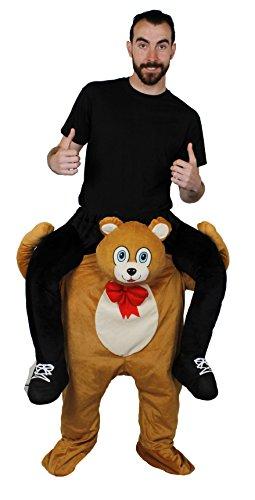 Bär Teddy Carry Me Kostüm - ILOVEFANCYDRESS TRAGE Mich-HEBE Mich HOCH KOSTÜM VERKLEIDUNG = Fasching Karneval= ALLE KOSTÜME SIND UNTERTEILE =MIT + OHNE KLEINEM ZUBEHÖR DAS Dieses KOSTÜM VON ANDERENHERVORHEBT=Teddy BÄR Pick ME UP