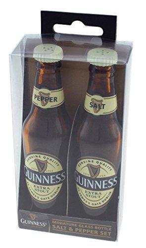 Guinness Mini Glasflasche S & Pfeffer-Set