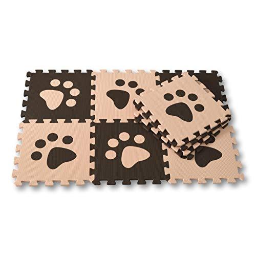 Meitoku Alfombra de Goma EVA para niños con puzle. 10 alfombras de...