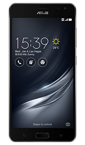 Asus ZenFone AR ZS571KL Smartphone (14,5 cm (5,7 Zoll) WQHD Touch-Display, 128GB Speicher, Android 7.0) schwarz (6 Asus Smartphone)