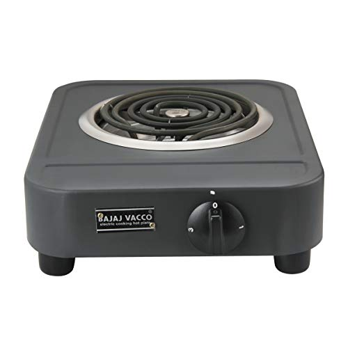 BAJAJ VACCO Electric Coil Hot Plate (2000 Watts PC with Regulator) HPC-07 (Long Body)