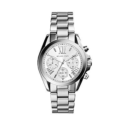Michael Kors MK6174 - Reloj de cuarzo con correa de acero inoxidable para mujer, color plateado de Michael Kors
