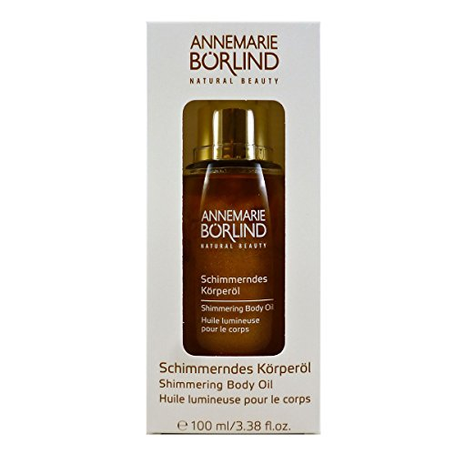 Annemarie Börlind Shimmering Body Oil, 1er Pack (1 x 100 ml) - Schimmernde Öl