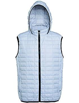 2786 - Chaleco con capucha y cremallera modelo Honeycomb para hombre