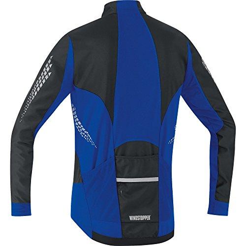 Gore Bike Wear, Maglia Uomo Xenon 2.0 Soft Shell Black/Brilliant Blue