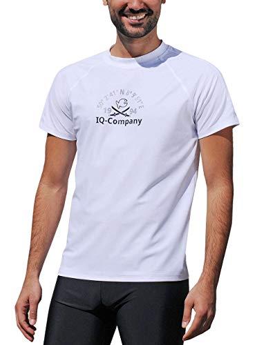 iQ-Company Herren T-Shirt UV-Schutz 300 Loose Fit Watersport 94,weiß(white),3XL (58)