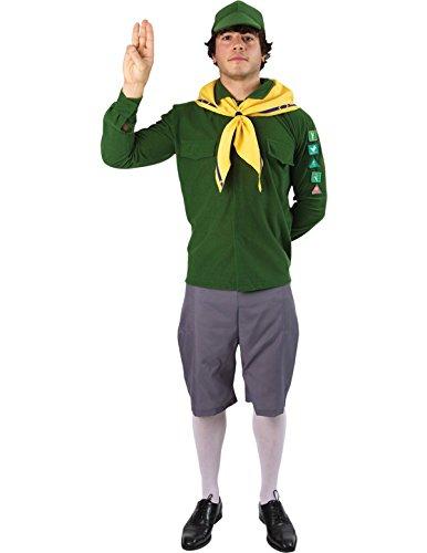 ür Herren Karneval Fasching Verkleidung Mottoparty Standard (Pfadfinder Kostüm Für Herren)
