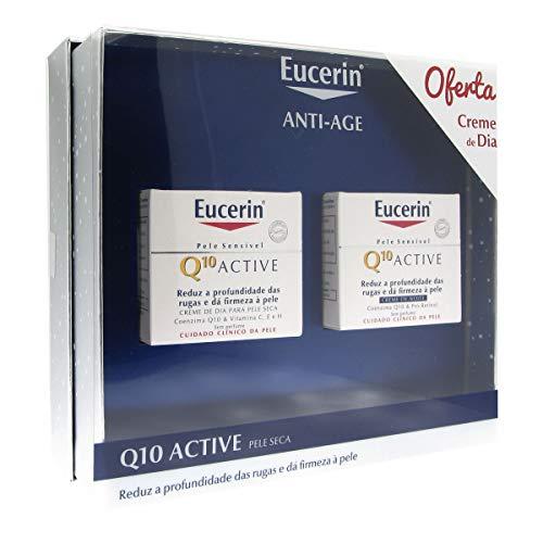 Eucerin Pack Q10 Nachtcreme + Tagescreme Trockene Haut